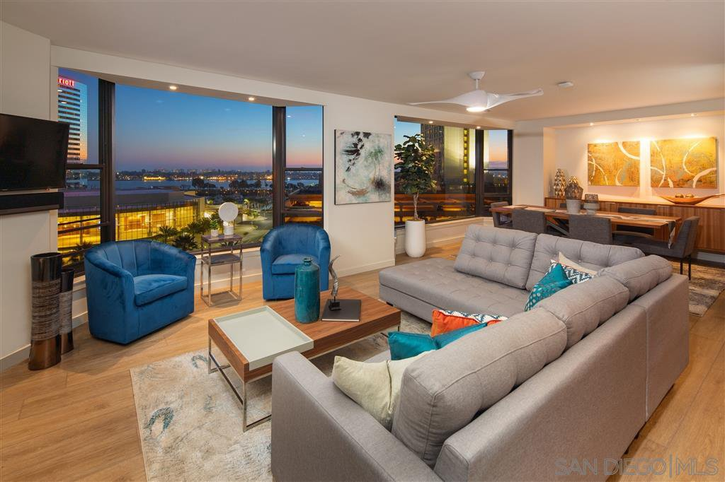 Main Photo: DOWNTOWN Condo for rent : 2 bedrooms : 500 W Harbor Dr #1021 in San Diego