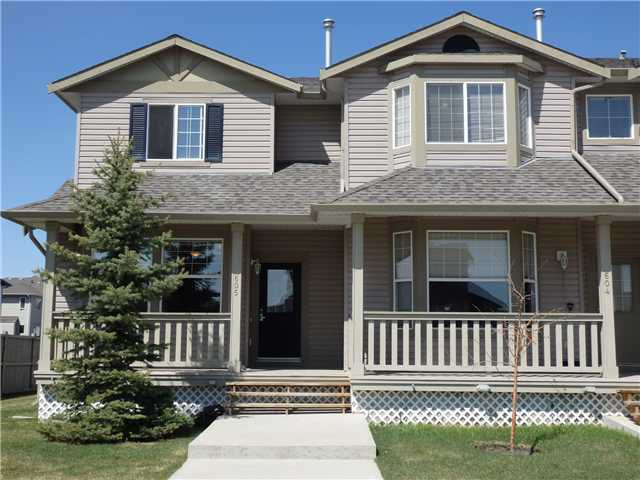 Main Photo: 605 2001 LUXSTONE Boulevard SW: Airdrie Townhouse for sale : MLS®# C3614893