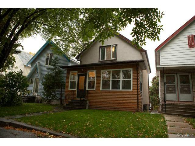 Main Photo: 248 Kitson Street in WINNIPEG: St Boniface Residential for sale (South East Winnipeg)  : MLS®# 1424288