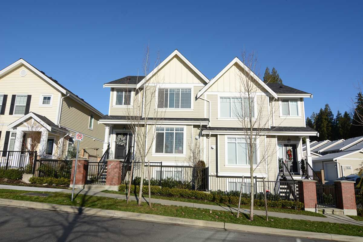 "Main Photo: 3377 DARWIN Avenue in Coquitlam: Burke Mountain House 1/2 Duplex for sale in ""THE BRAE II"" : MLS®# R2022180"