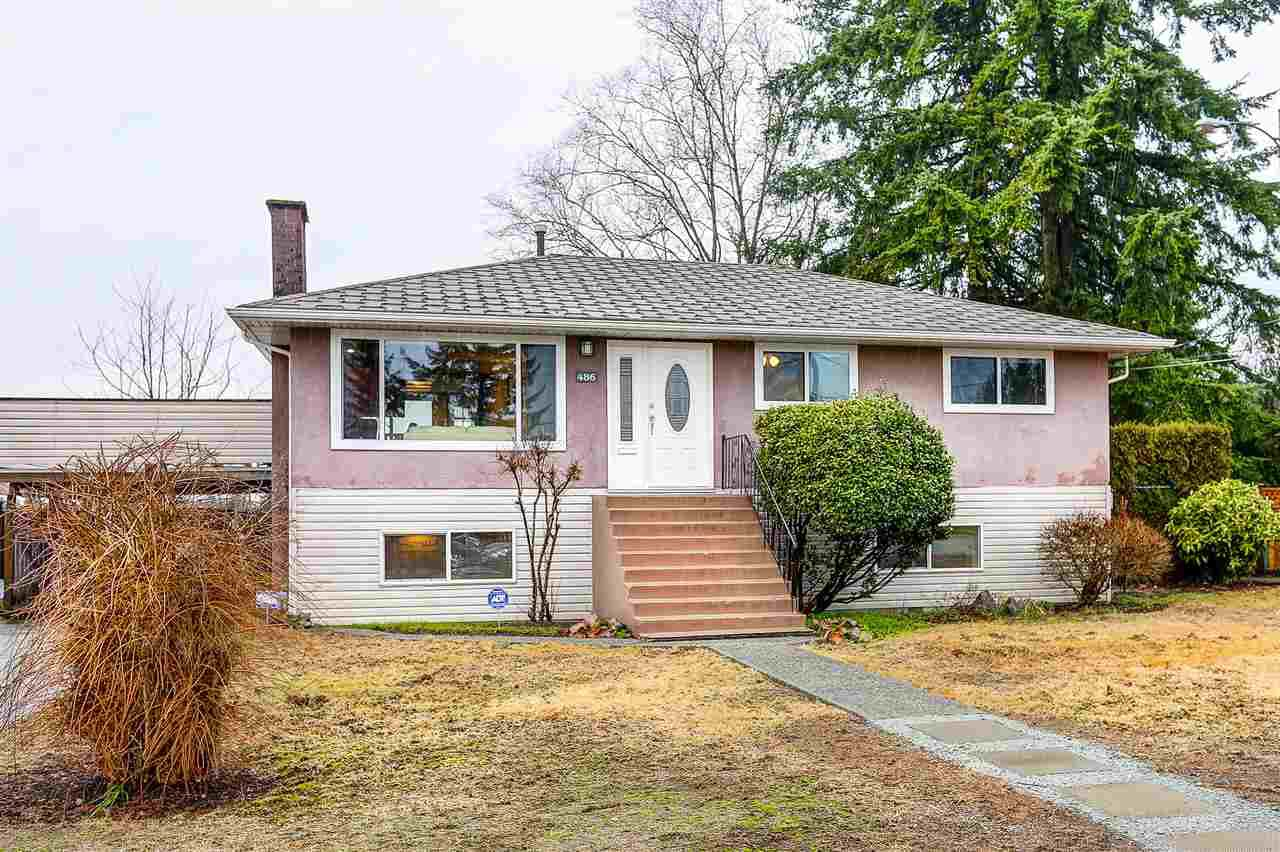 Main Photo: 486 BYNG Street in Coquitlam: Central Coquitlam House for sale : MLS®# R2028232