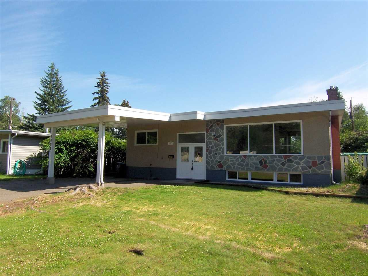"Main Photo: 2475 HAMMOND Avenue in Prince George: Nechako View House for sale in ""NECHAKO VIEW"" (PG City Central (Zone 72))  : MLS®# R2092148"