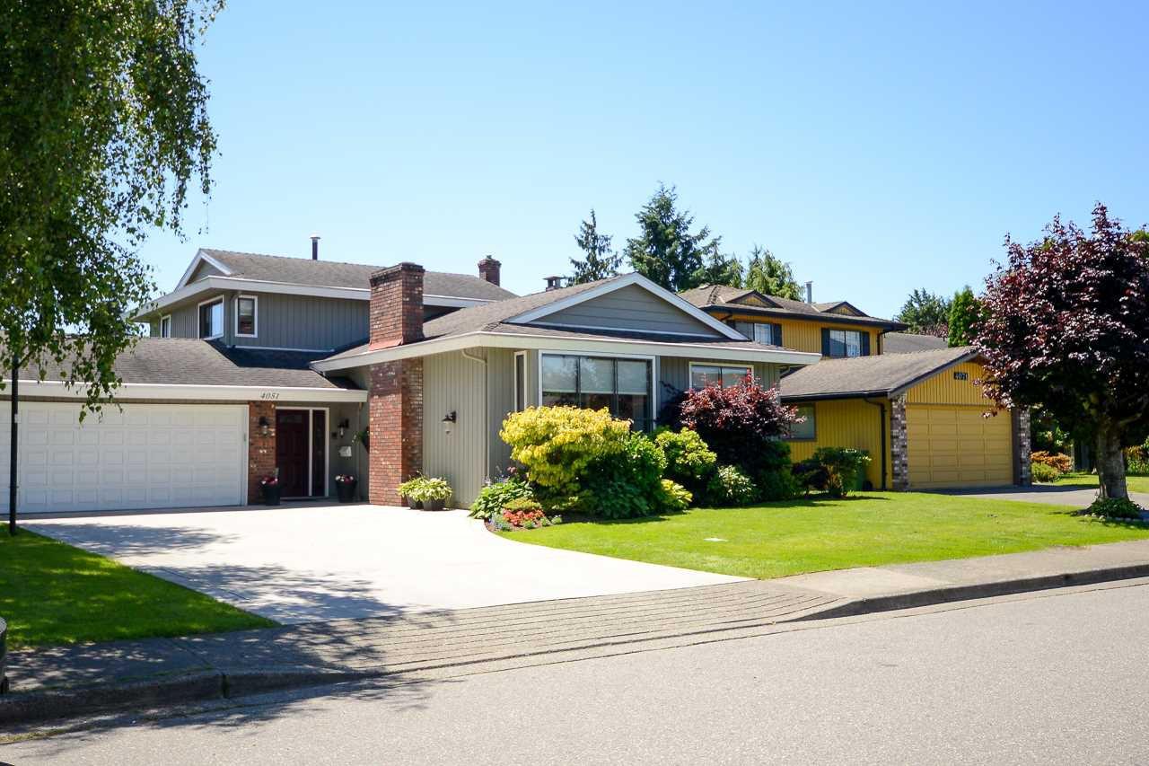 Main Photo: 4051 LANCELOT Drive in Richmond: Boyd Park House for sale : MLS®# R2180434
