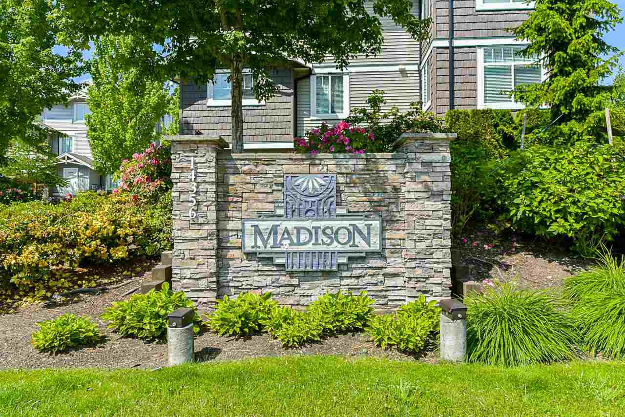 """Main Photo: 82 14356 63A Avenue in Surrey: Sullivan Station Townhouse for sale in """"MADISON"""" : MLS®# R2373318"""