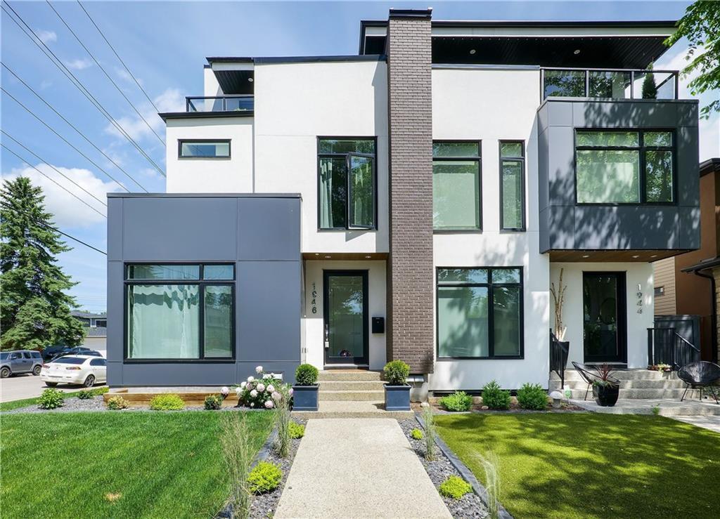 Main Photo: 1946 45 Avenue SW in Calgary: Altadore Semi Detached for sale : MLS®# C4291365