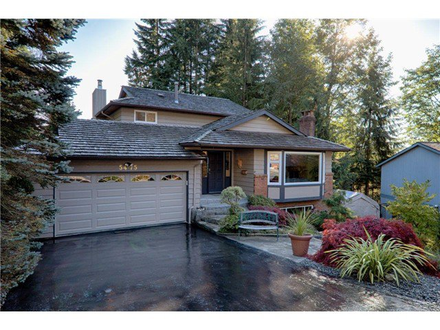 Main Photo: 5475 CORTEZ Crescent in North Vancouver: Canyon Heights NV House for sale : MLS®# V1032093