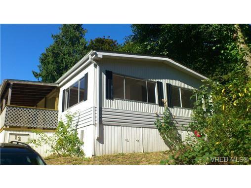 Main Photo: 12 2741 Stautw Rd in SAANICHTON: CS Hawthorne Manufactured Home for sale (Central Saanich)  : MLS®# 658840
