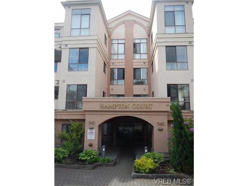 Main Photo: 109 545 Manchester Road in VICTORIA: Vi Burnside Condo Apartment for sale (Victoria)  : MLS®# 337904