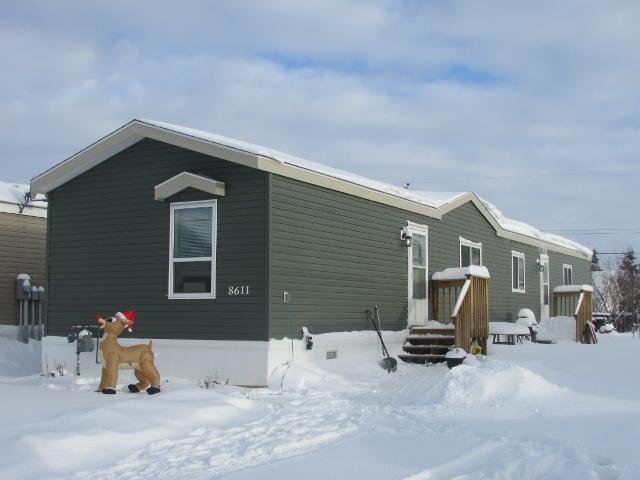 "Main Photo: 8611 79A Street in Fort St. John: Fort St. John - City SE Manufactured Home for sale in ""WINFIELD ESTATES"" (Fort St. John (Zone 60))  : MLS®# N241138"