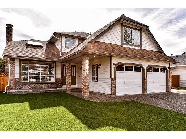 "Main Photo: 15498 91A Street in Surrey: Fleetwood Tynehead House for sale in ""BERKSHIRE PARK area"" : MLS®# F1435240"