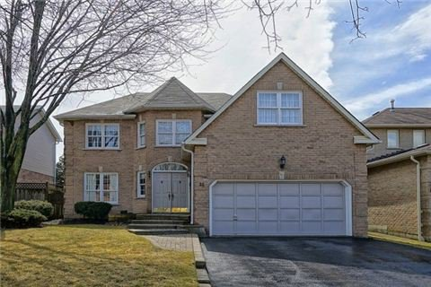 Main Photo: 35 Flint Crescent Whitby Ontario Beautiful 4 +1 Bedroom home in Sought After Fallingbrook neighbourhood