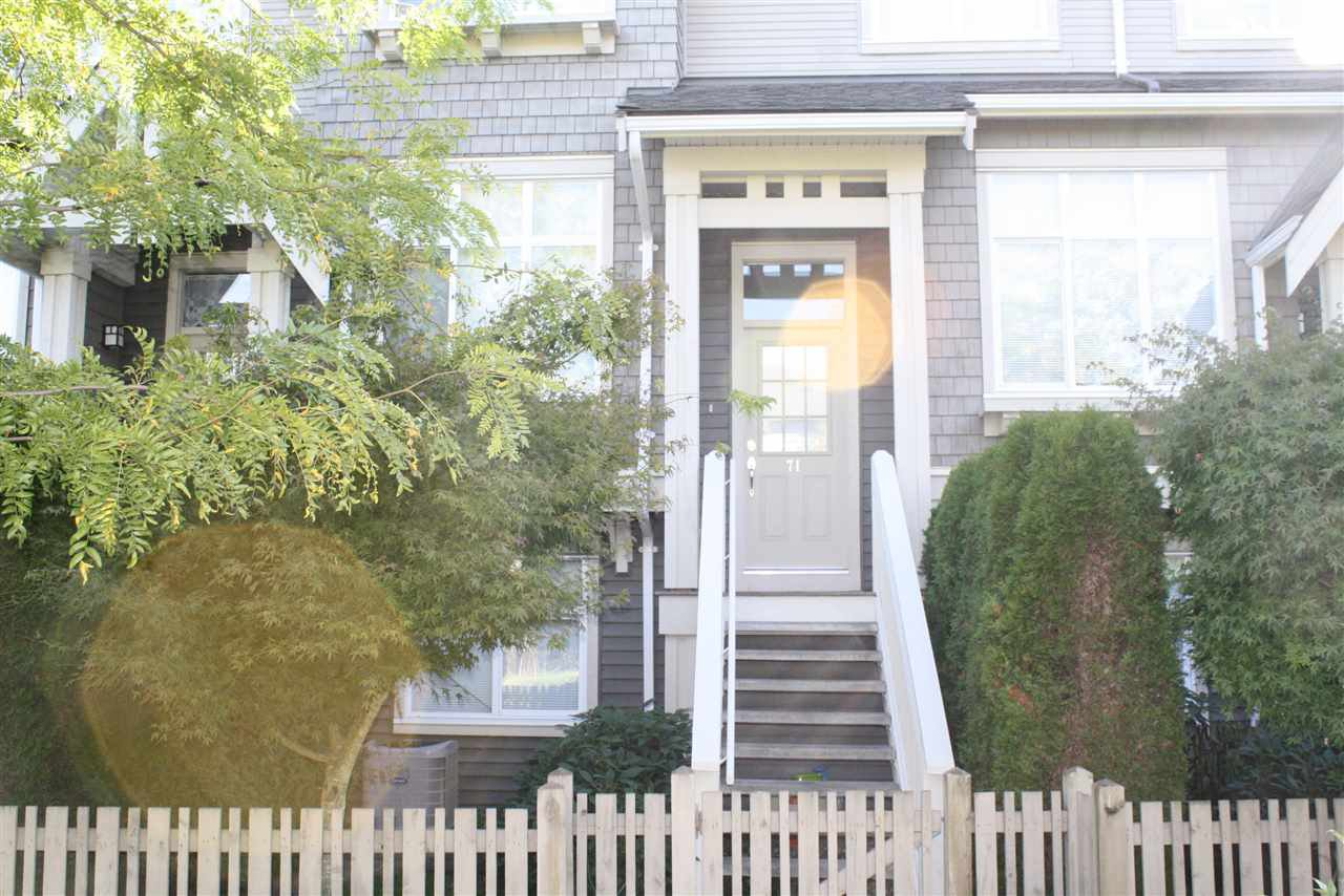 "Main Photo: 71 9800 ODLIN Road in Richmond: West Cambie Townhouse for sale in ""HENNESSY GARDEN"" : MLS®# R2004610"