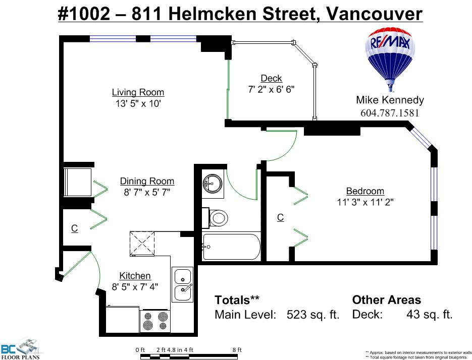 """Photo 20: Photos: 1002 811 HELMCKEN Street in Vancouver: Downtown VW Condo for sale in """"Imperial Tower"""" (Vancouver West)  : MLS®# R2022675"""