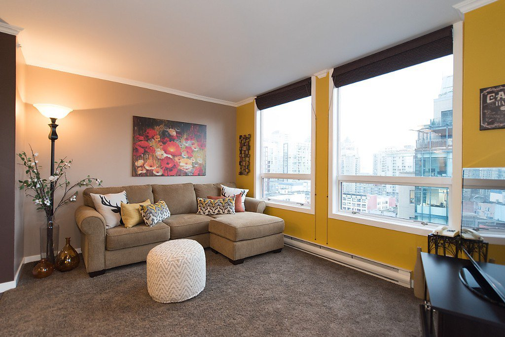 """Photo 5: Photos: 1002 811 HELMCKEN Street in Vancouver: Downtown VW Condo for sale in """"Imperial Tower"""" (Vancouver West)  : MLS®# R2022675"""