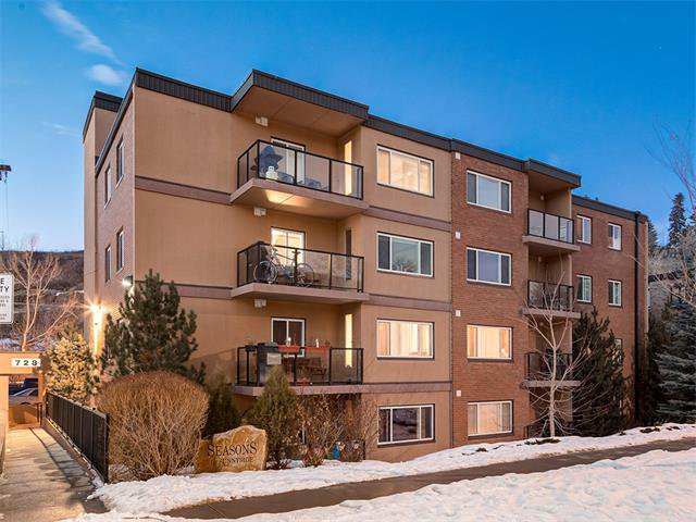 Main Photo: 106 728 3 Avenue NW in Calgary: Sunnyside Condo for sale : MLS®# C4046752