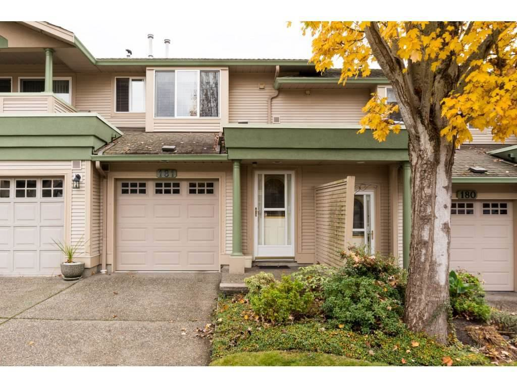 "Main Photo: 181 13888 70 Avenue in Surrey: East Newton Townhouse for sale in ""CHELSEA GARDENS"" : MLS®# R2134265"
