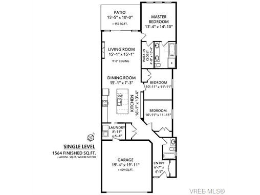 Photo 19: Photos: 221 Bellamy Link in VICTORIA: La Thetis Heights Half Duplex for sale (Langford)  : MLS®# 753483