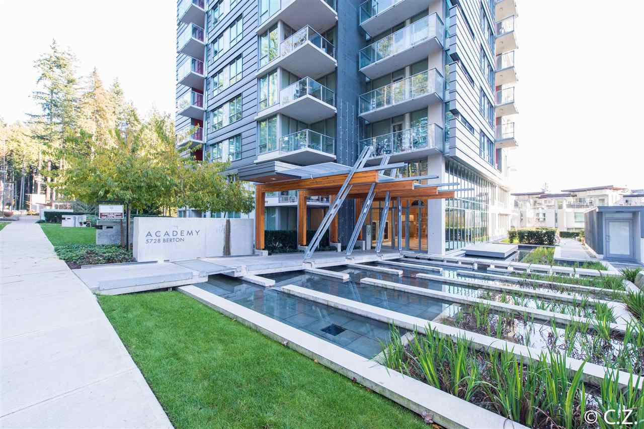 Main Photo: 1210 5728 BERTON Avenue in Vancouver: University VW Condo for sale (Vancouver West)  : MLS®# R2195264