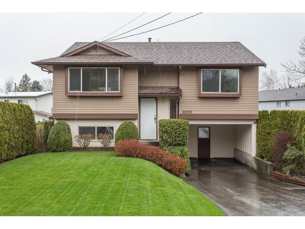 Main Photo: 51095 NEVIN Road in Rosedale: Rosedale Popkum House for sale : MLS®# R2250652