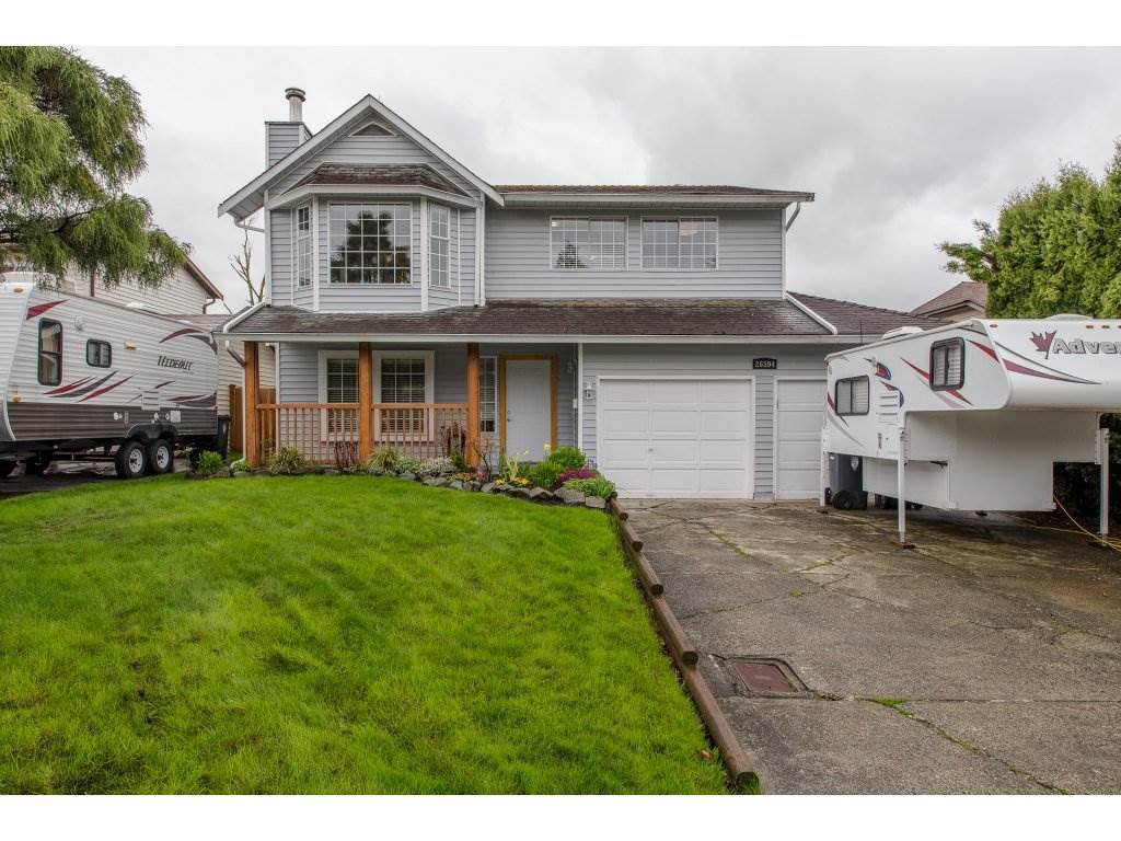 Main Photo: 26594 28A AVENUE in Langley: Aldergrove Langley House for sale : MLS®# R2253889