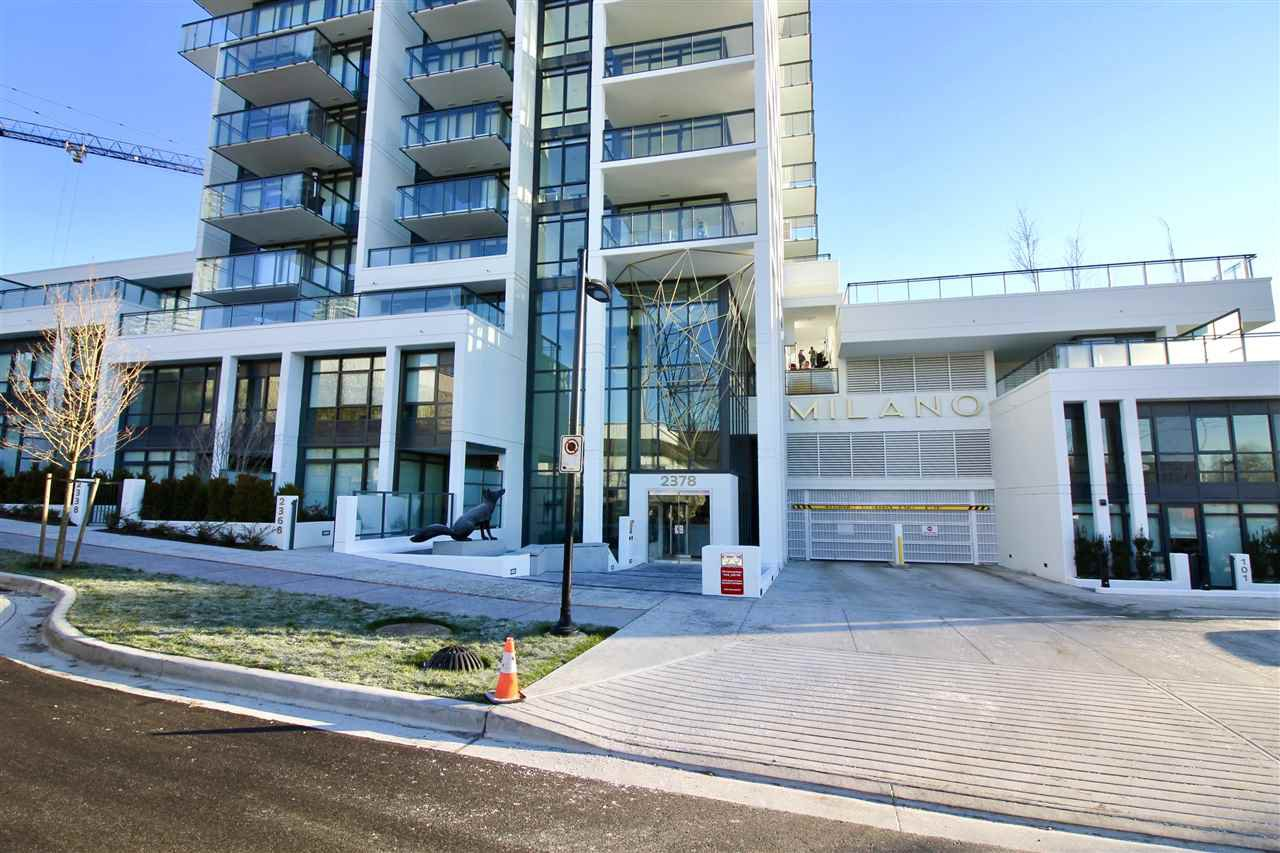 """Main Photo: 505 2378 ALPHA Avenue in Burnaby: Brentwood Park Condo for sale in """"MILANO"""" (Burnaby North)  : MLS®# R2326789"""