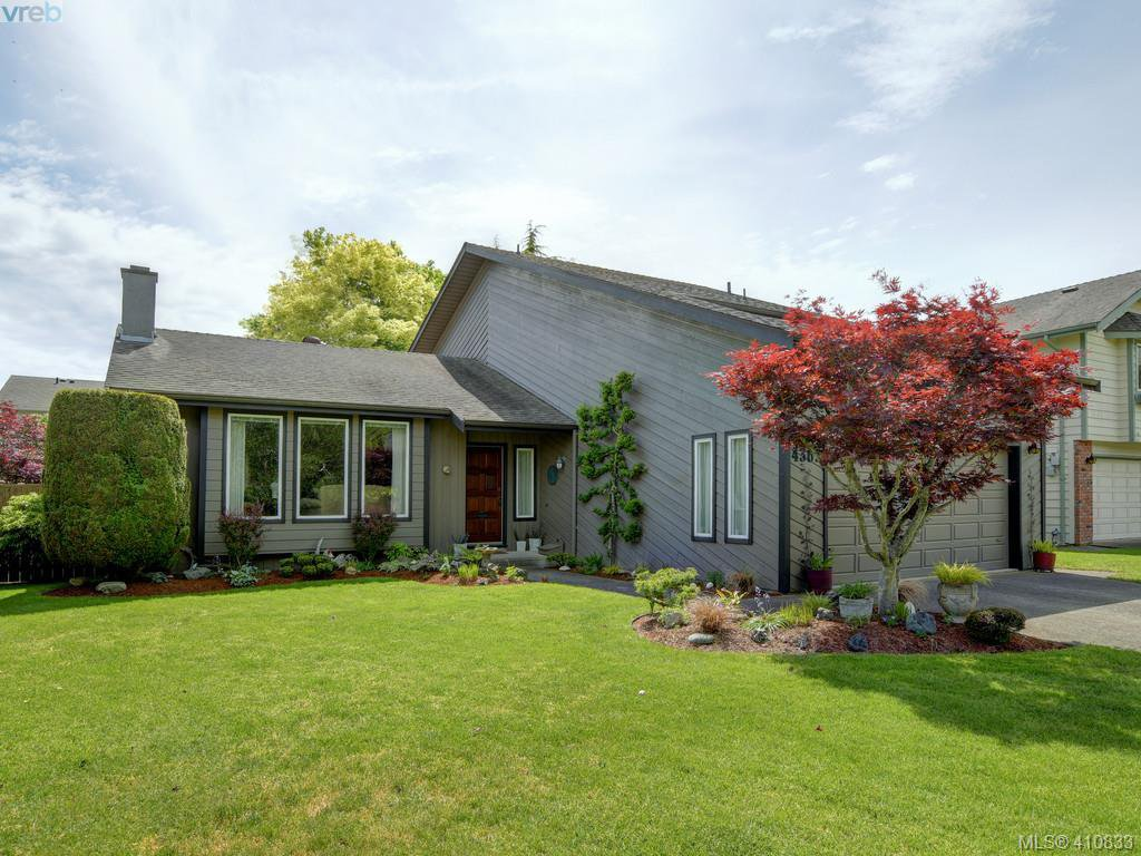 Main Photo: 4362 Paramont Pl in VICTORIA: SE Gordon Head House for sale (Saanich East)  : MLS®# 814442