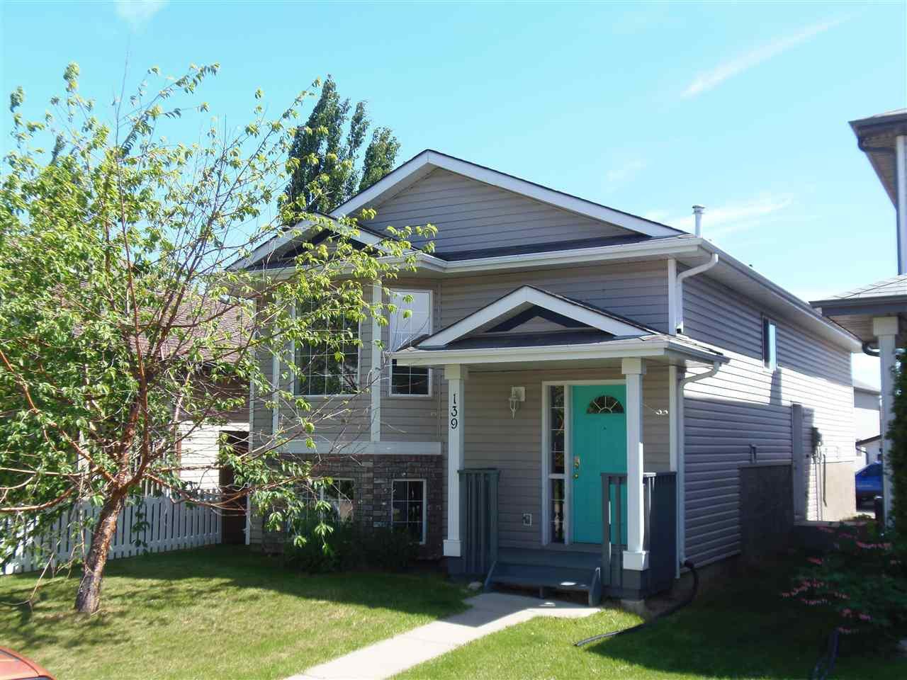 Main Photo: 139 BROOKVIEW Way: Stony Plain House for sale : MLS®# E4161726