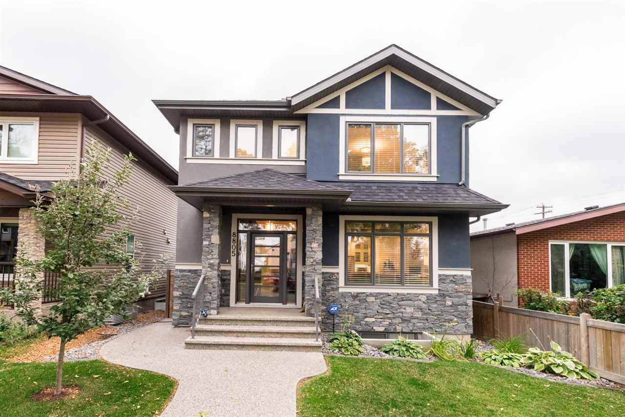 Main Photo: 8805 93 Street in Edmonton: Zone 18 House for sale : MLS®# E4176086
