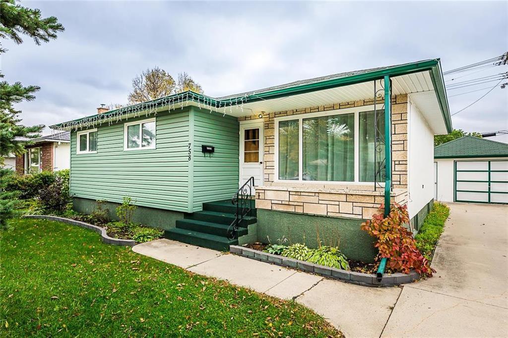 Main Photo: 758 Jefferson Avenue in Winnipeg: Garden City Residential for sale (4G)  : MLS®# 1928222