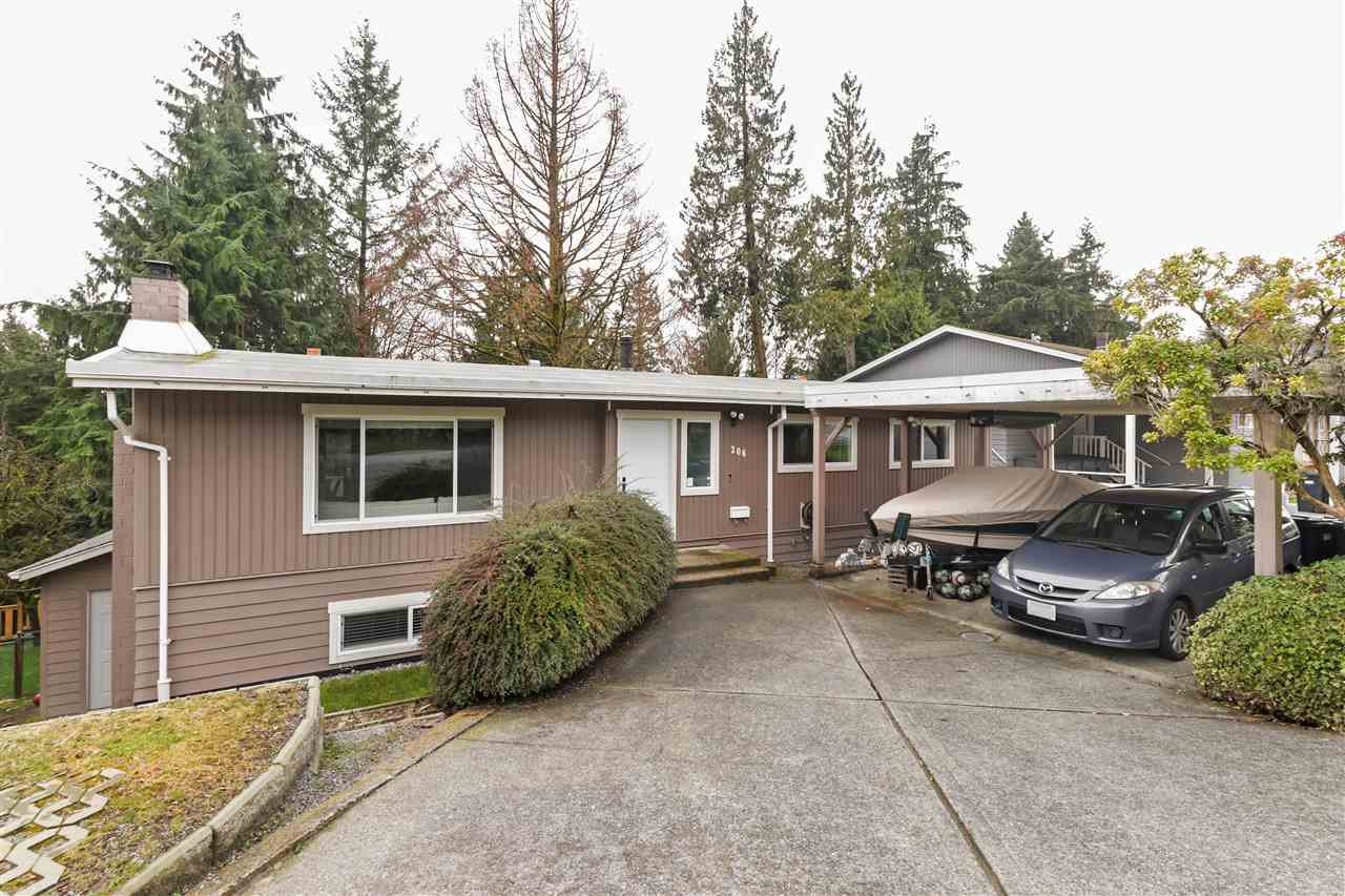 Main Photo: 206 HARVARD Drive in Port Moody: College Park PM House for sale : MLS®# R2441904