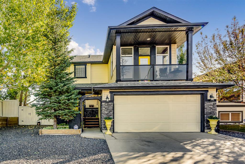 Welcome to this Character Home in the Golf Course Community in Airdrie.  It has an Oasis backyard and RV Parking.
