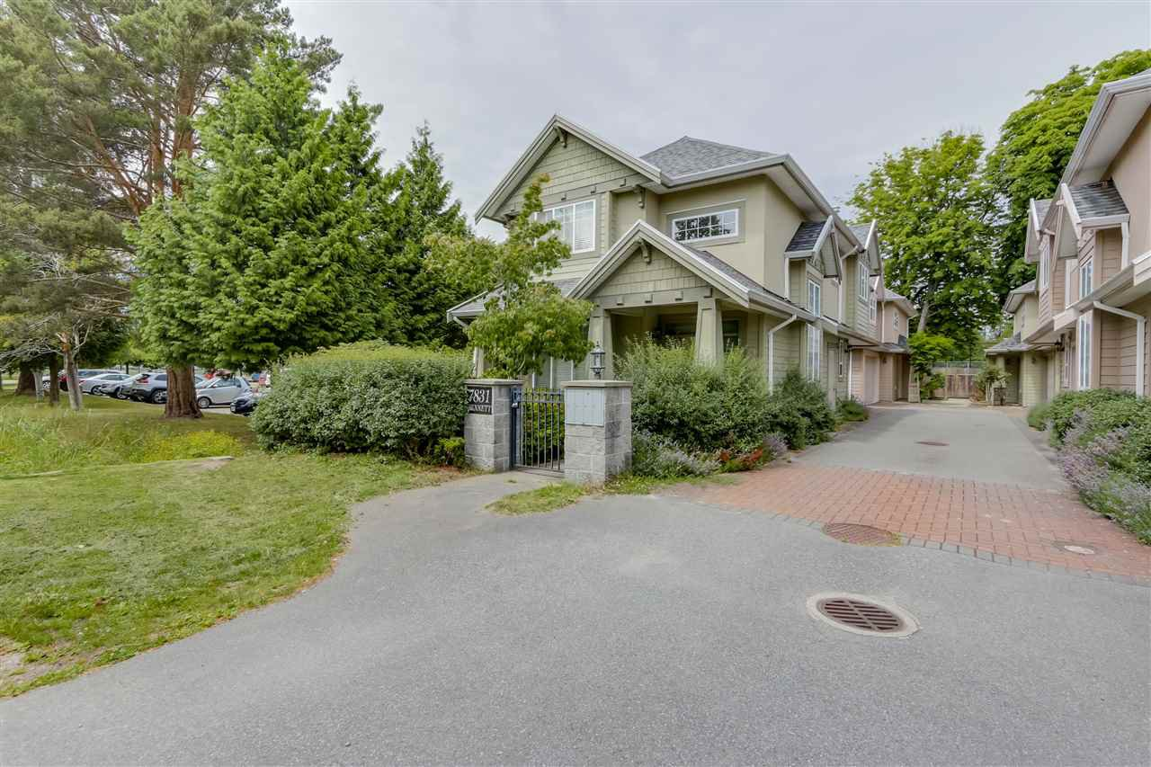 Main Photo: 3 7831 BENNETT Road in Richmond: Brighouse South Townhouse for sale : MLS®# R2082766