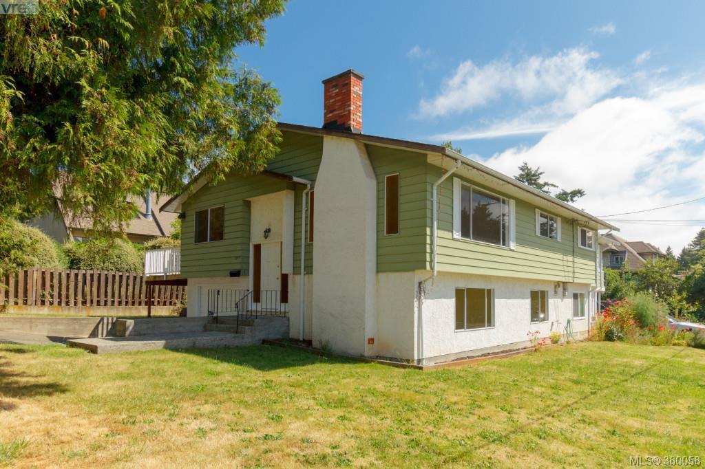 Main Photo: 3977 Saanich Road in VICTORIA: SE Swan Lake Strata Duplex Unit for sale (Saanich East)  : MLS®# 380058