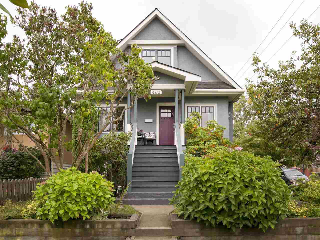 "Main Photo: 402 E 30TH Avenue in Vancouver: Fraser VE House for sale in ""Main Street"" (Vancouver East)  : MLS®# R2212798"