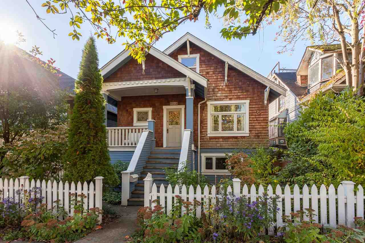 """Main Photo: 1081 ODLUM Drive in Vancouver: Grandview VE House for sale in """"COMMERCIAL DRIVE"""" (Vancouver East)  : MLS®# R2214743"""