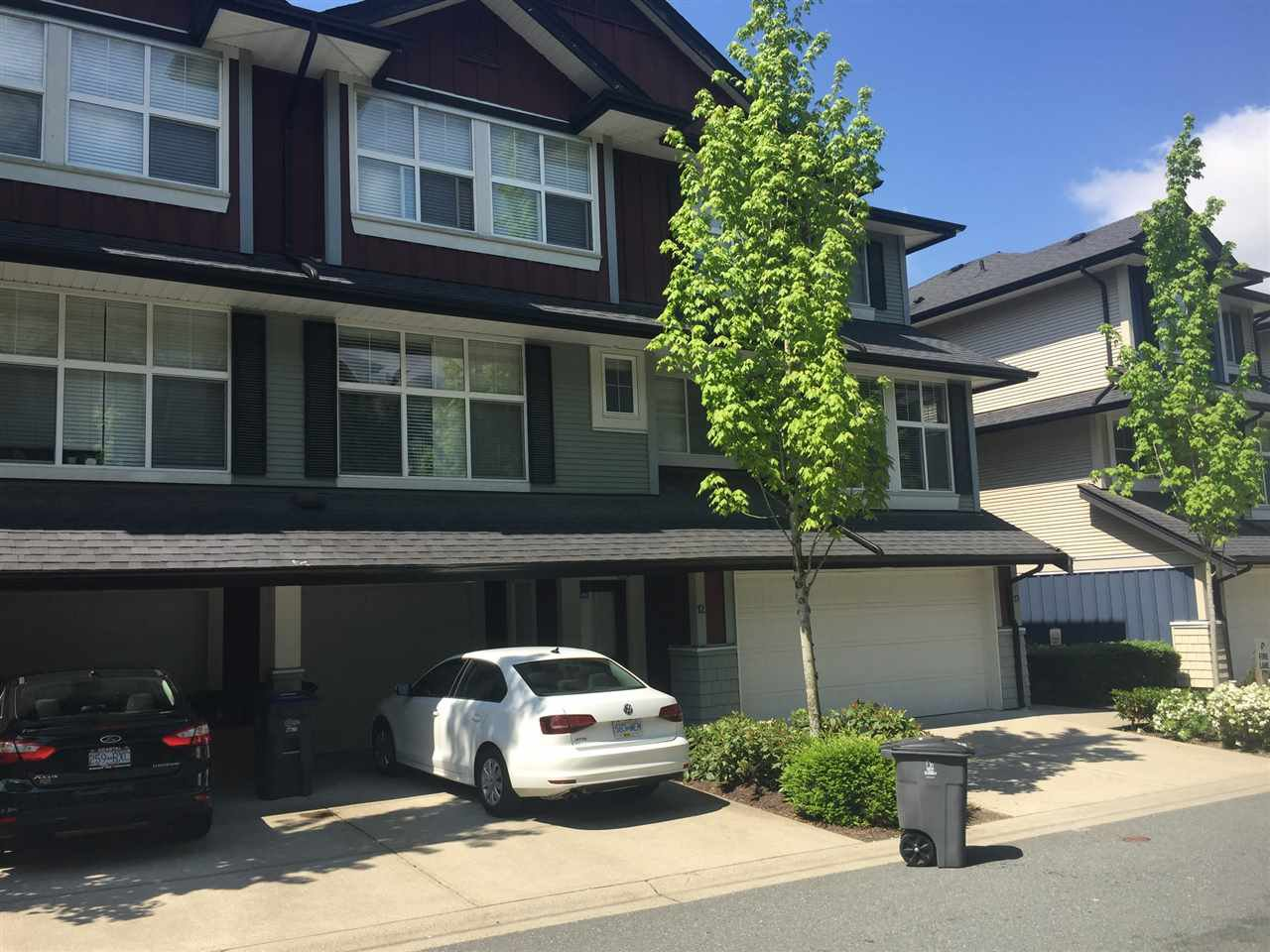 """Main Photo: 12 18199 70 Avenue in Surrey: Cloverdale BC Townhouse for sale in """"Augusta"""" (Cloverdale)  : MLS®# R2265334"""