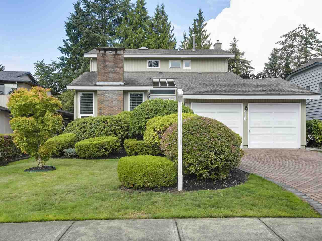 """Main Photo: 916 MERRITT Street in Coquitlam: Harbour Chines House for sale in """"HARBOUR CHINES"""" : MLS®# R2305133"""