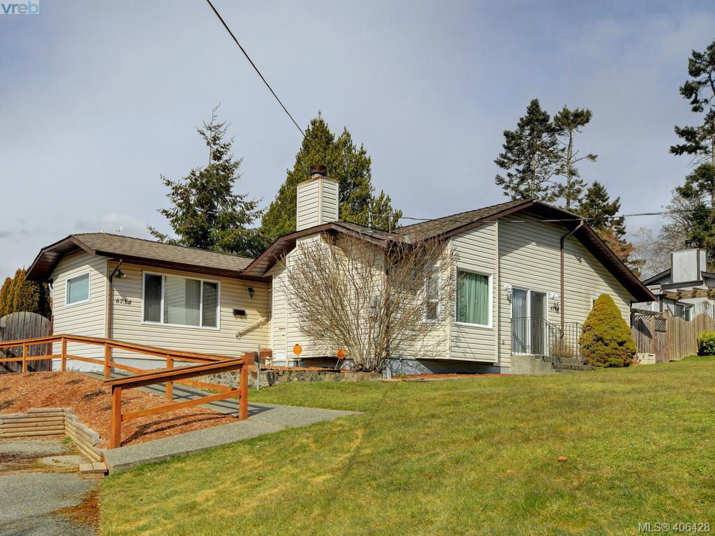 Main Photo: 6734 Eakin Dr in SOOKE: Sk Broomhill House for sale (Sooke)  : MLS®# 807758