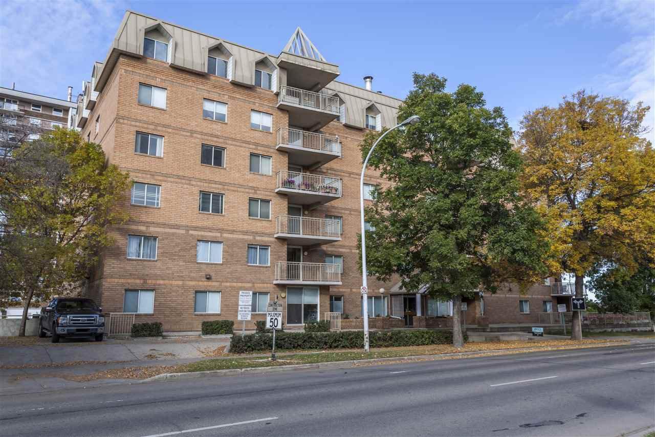 Main Photo: 205 8728 GATEWAY Boulevard E in Edmonton: Zone 15 Condo for sale : MLS®# E4159069