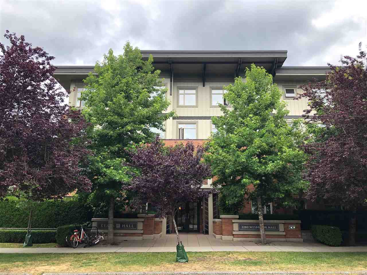 Main Photo: 218 2280 WESBROOK Mall in Vancouver: University VW Condo for sale (Vancouver West)  : MLS®# R2383195