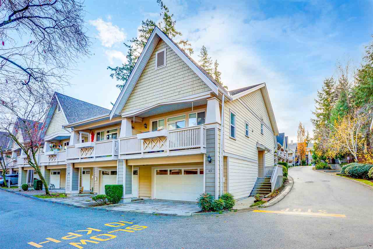 "Main Photo: 43 2588 152 Street in Surrey: King George Corridor Townhouse for sale in ""WOODGROVE"" (South Surrey White Rock)  : MLS®# R2518581"
