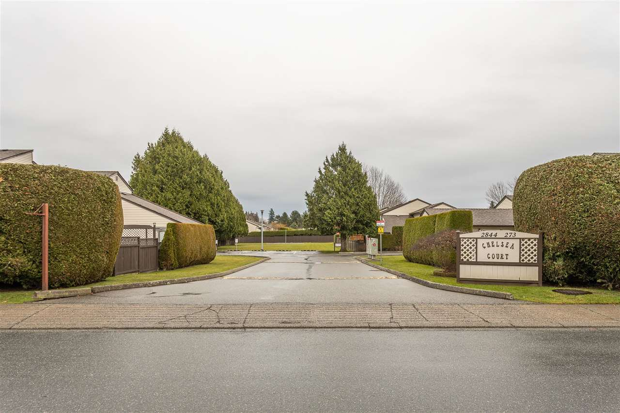 """Main Photo: 134 2844 273 Street in Langley: Aldergrove Langley Townhouse for sale in """"CHELSEA COURT"""" : MLS®# R2522030"""