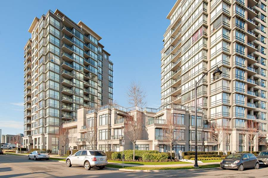 """Photo 1: Photos: 1002 3333 CORVETTE Way in Richmond: West Cambie Condo for sale in """"WALL CENTRE RICHMOND"""" : MLS®# R2054097"""
