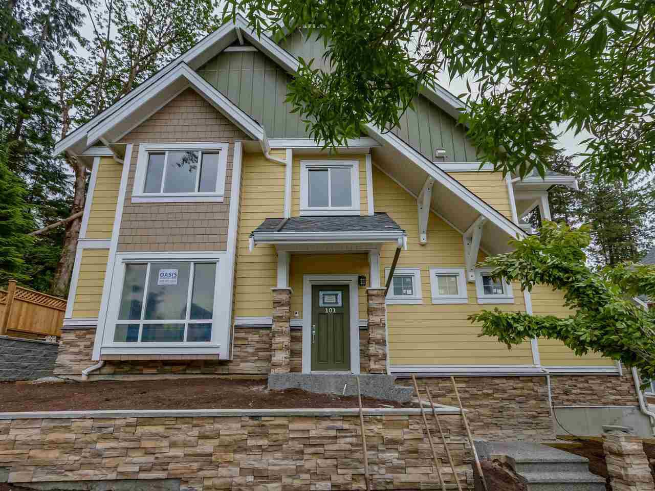 """Main Photo: 101 1405 DAYTON Street in Coquitlam: Burke Mountain Townhouse for sale in """"ERICA"""" : MLS®# R2075861"""
