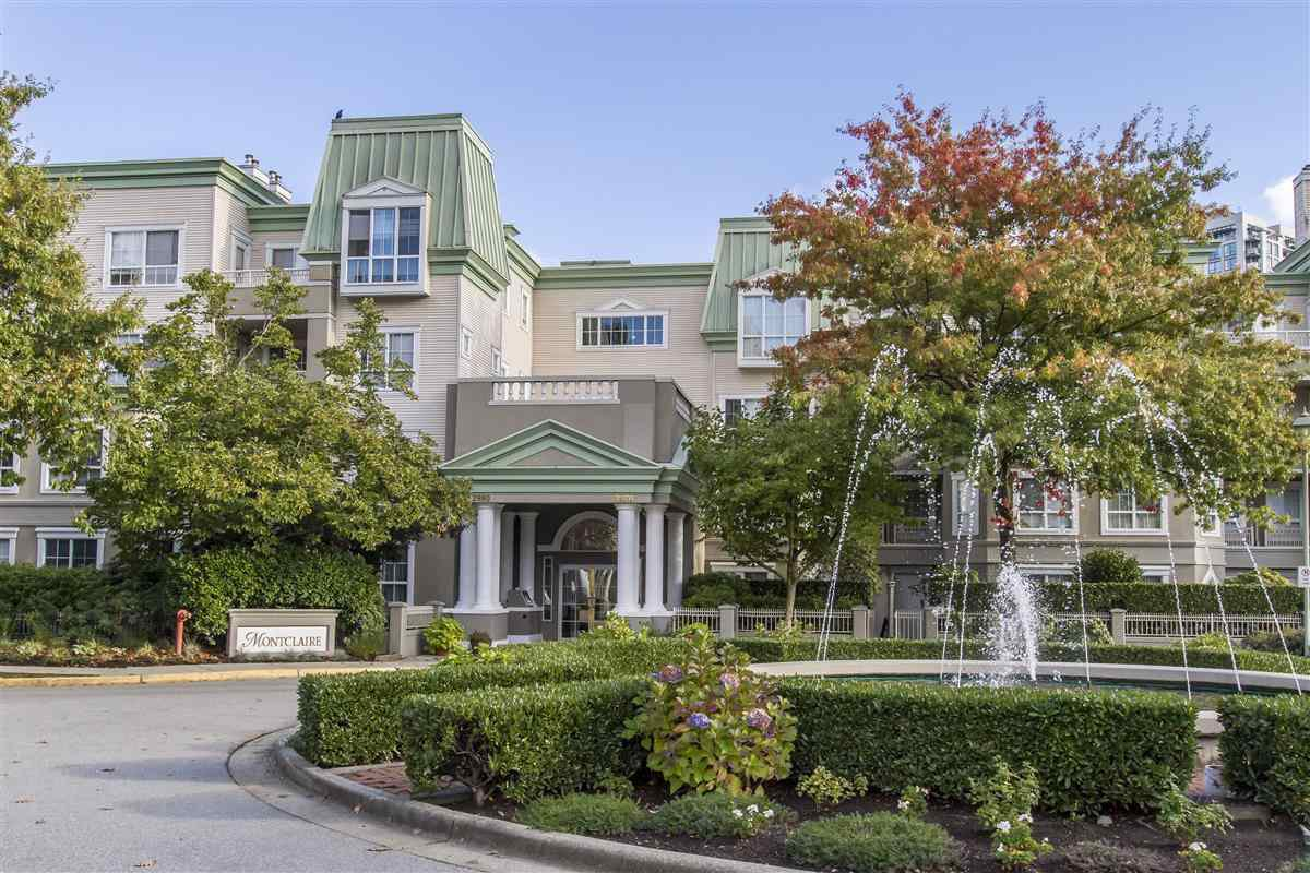 """Main Photo: 142 2980 PRINCESS Crescent in Coquitlam: Canyon Springs Condo for sale in """"THE MONTCLAIRE"""" : MLS®# R2214588"""