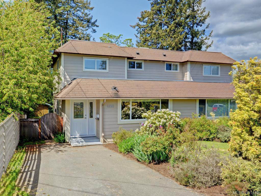 Main Photo: 4160 Borden St in VICTORIA: SE Lake Hill Half Duplex for sale (Saanich East)  : MLS®# 786805