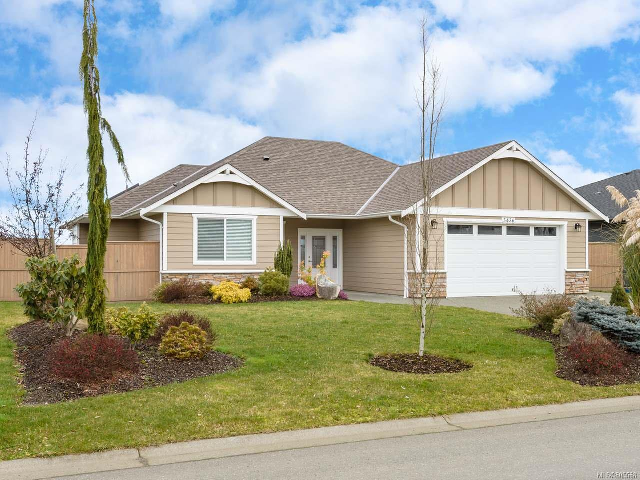 Main Photo: 3436 Stoneridge Ave in COURTENAY: CV Courtenay City House for sale (Comox Valley)  : MLS®# 805568