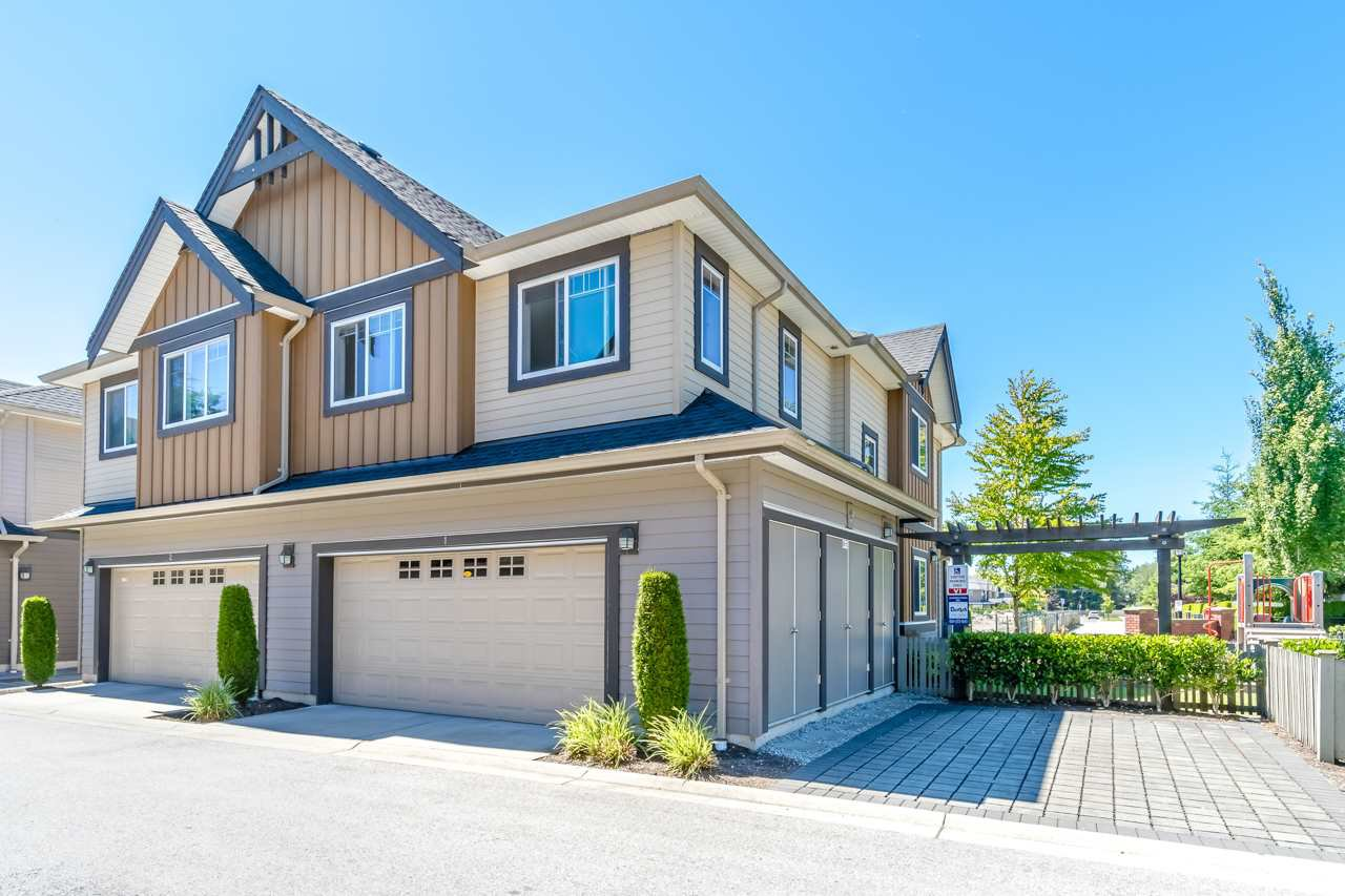 Main Photo: 1 9699 SILLS Avenue in Richmond: McLennan North Townhouse for sale : MLS®# R2359745
