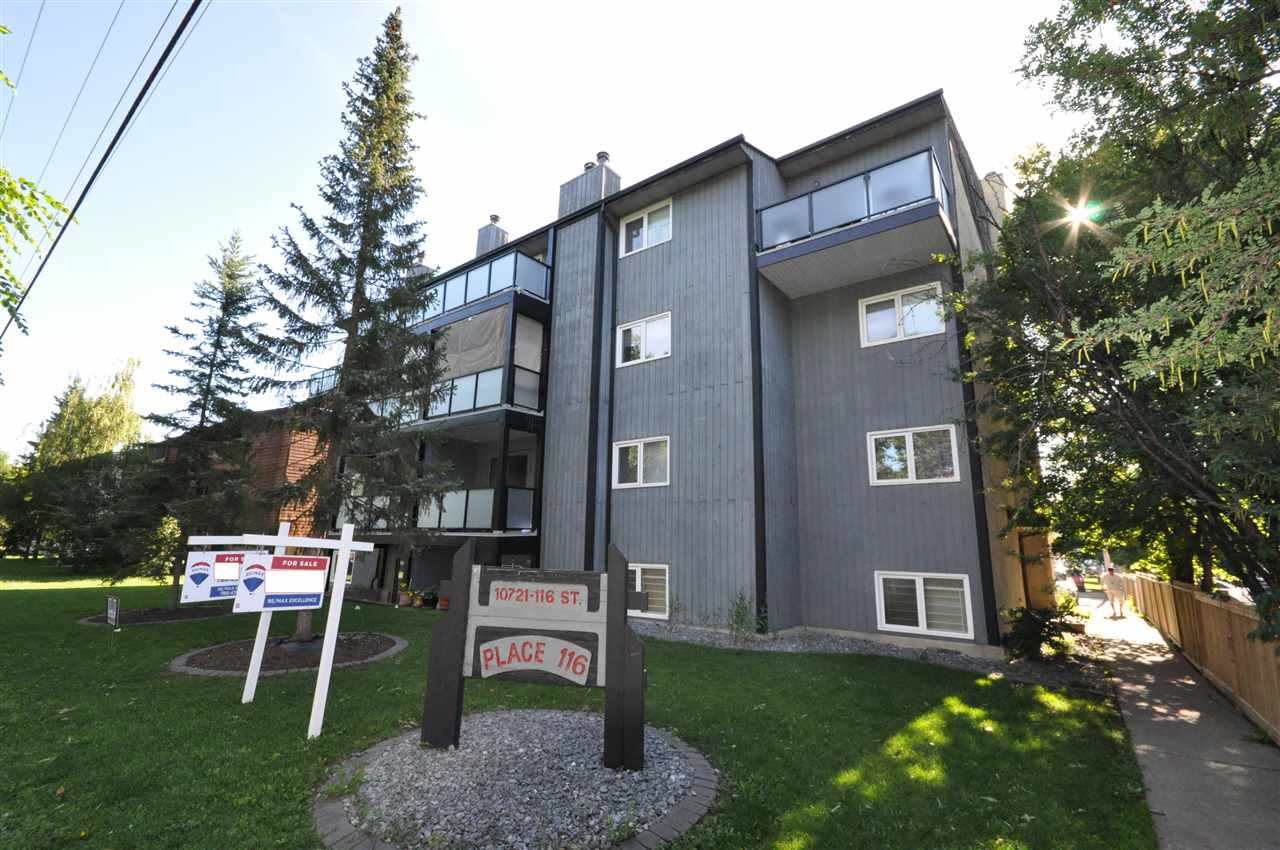Main Photo: 5 10721 116 Street in Edmonton: Zone 08 Condo for sale : MLS®# E4164577