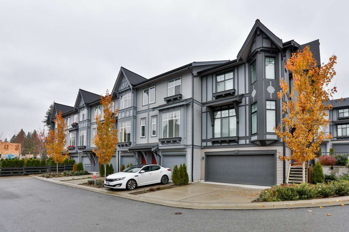 """Main Photo: 22 1221 ROCKLIN Street in Coquitlam: Burke Mountain Townhouse for sale in """"Victoria"""" : MLS®# R2418608"""
